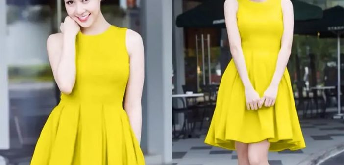 Biến tấu trang phục vàng chanh cho cô nàng công sở thêm thu hút