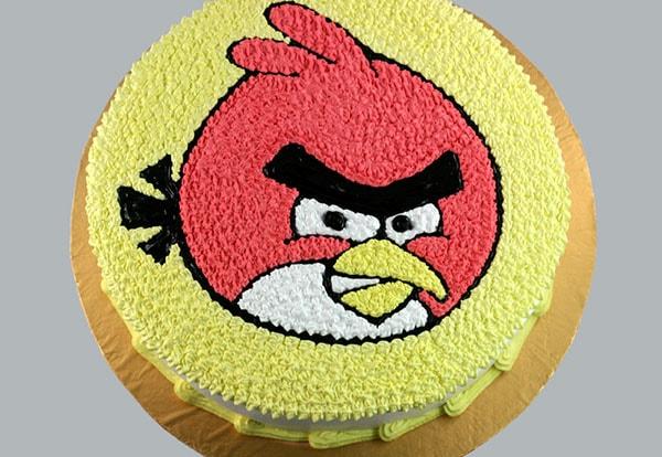 Bánh gato hình chú chim Angry Bird