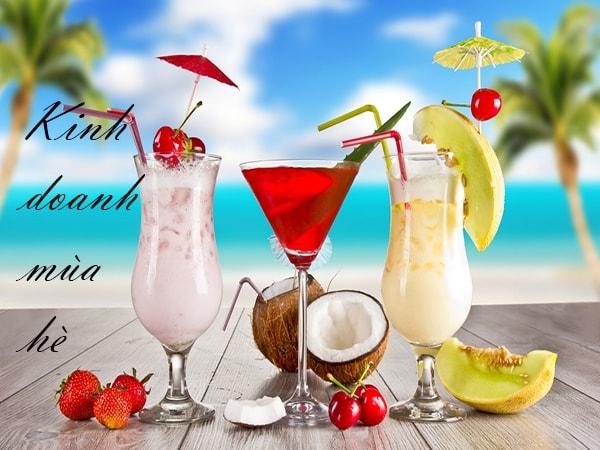 Gợi ý những đồ uống giúp bạn kinh doanh tốt trong mùa hè