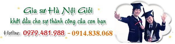 Tiêu chí của trung tâm gia sư Hà Nội Giỏi