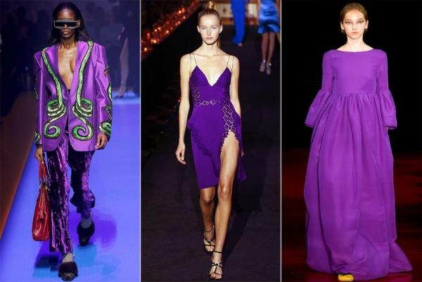 Xu hướng thời trang hè 2018: Màu lavender (tím pastel) lên ngôi