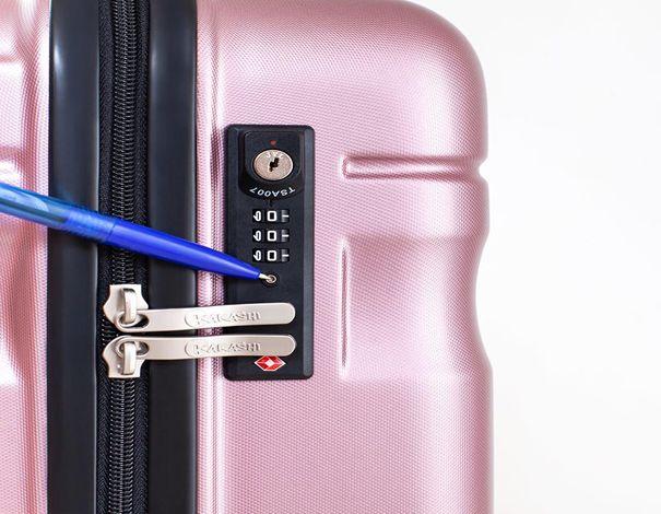 Mở khóa vali 3 số bằng bút bi