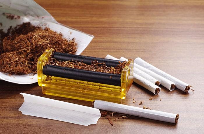 Thuốc lá tự cuốn cũng có nhiều tác hại với sức khỏe