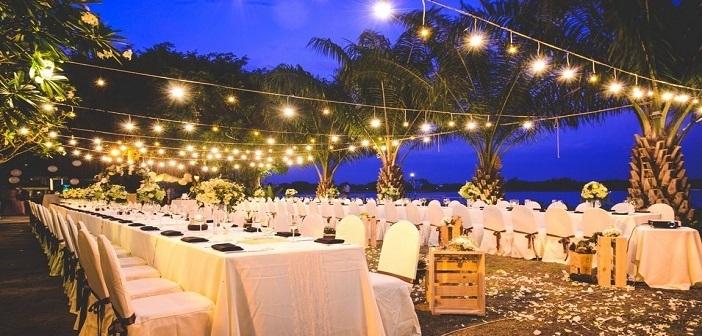 địa điểm lý tưởng cho tiệc cưới ngoài trời