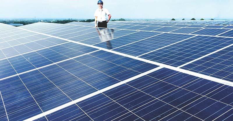 Pin năng lượng mặt trời có thể tái tạo