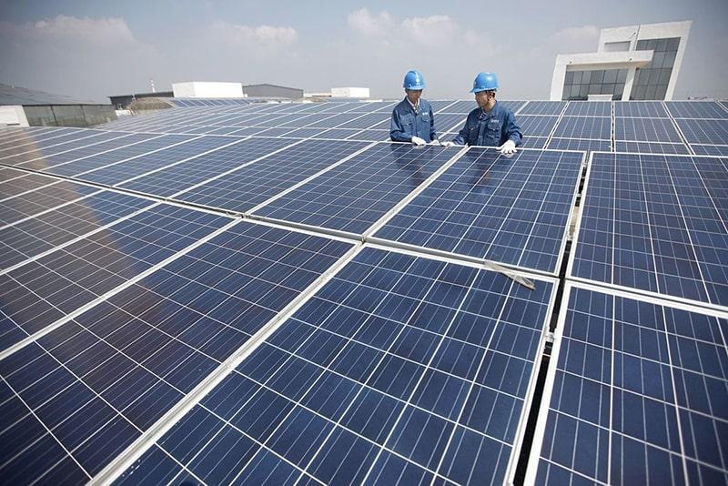 Pin năng lượng mặt trời phong phú, dồi dào