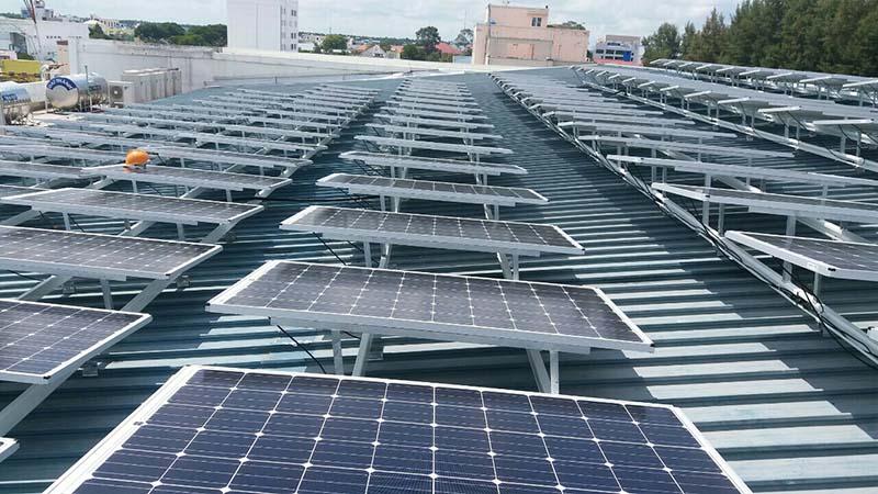 Năng lượng mặt trời sạch về sinh thái