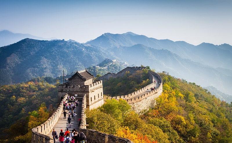 Vạn lý trường thành Trung Quốc dài 8851,8m