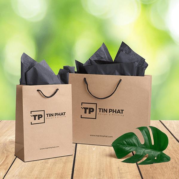 Túi giấy dây vải