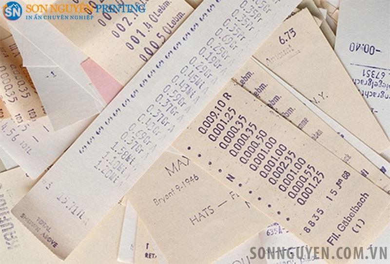 Ứng dụng của giấy in nhiệt trong in hóa đơn