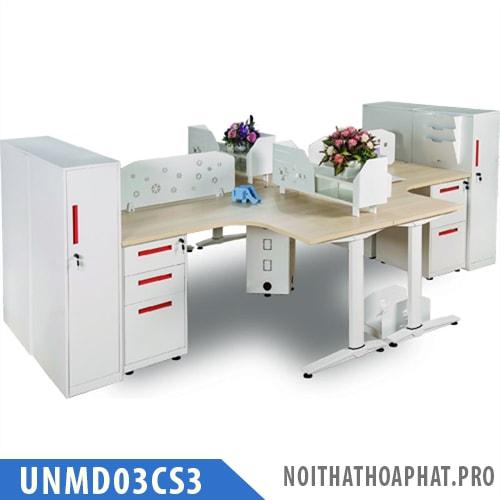 Cụm bàn làm việc UNMD03CS3