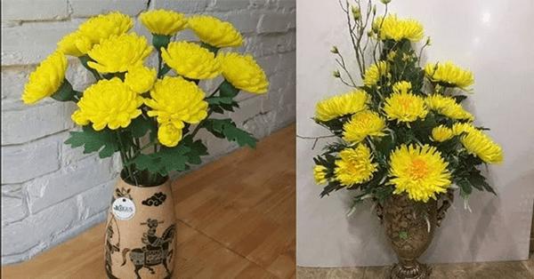 Vào ngày Tết nên đặt hoa cúc trong nhà