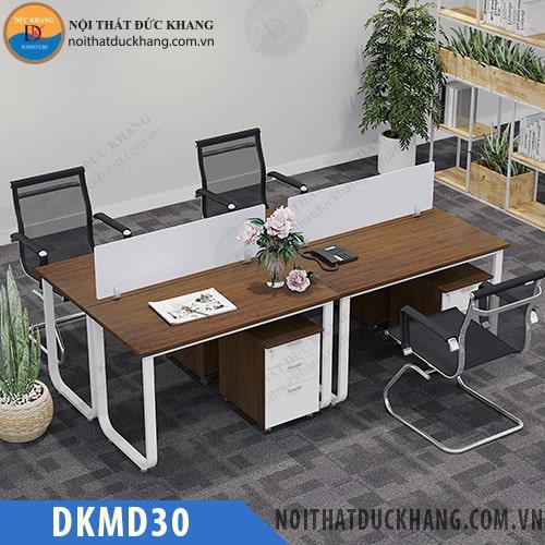 Cụm bàn làm việc 4 chỗ DKMD30