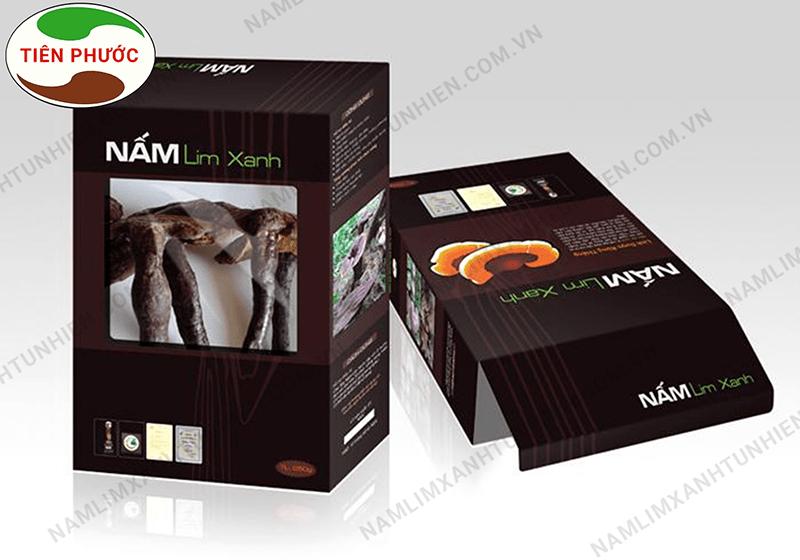 Sản phẩm nấm lim xanh được sản xuất bởi Công ty TNHH Nấm Lim Xanh Tiên Phước